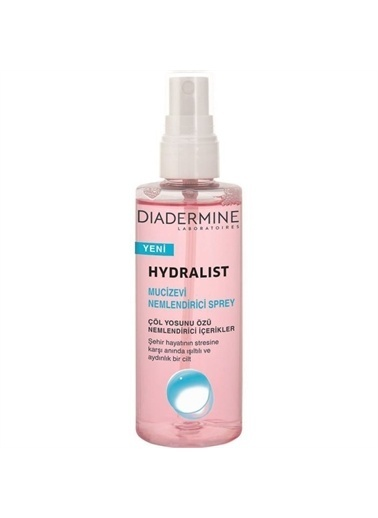Diadermine Diadermine Hydralist Nemlendirici Sprey 100 Ml Renksiz